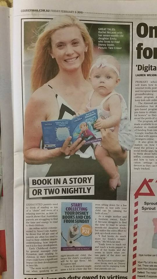 In today's Courier Mail!
